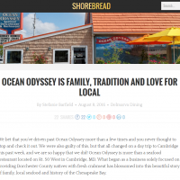 Ocean Odyssey is Family, Tradition and Love for Local Shorebread Aricle